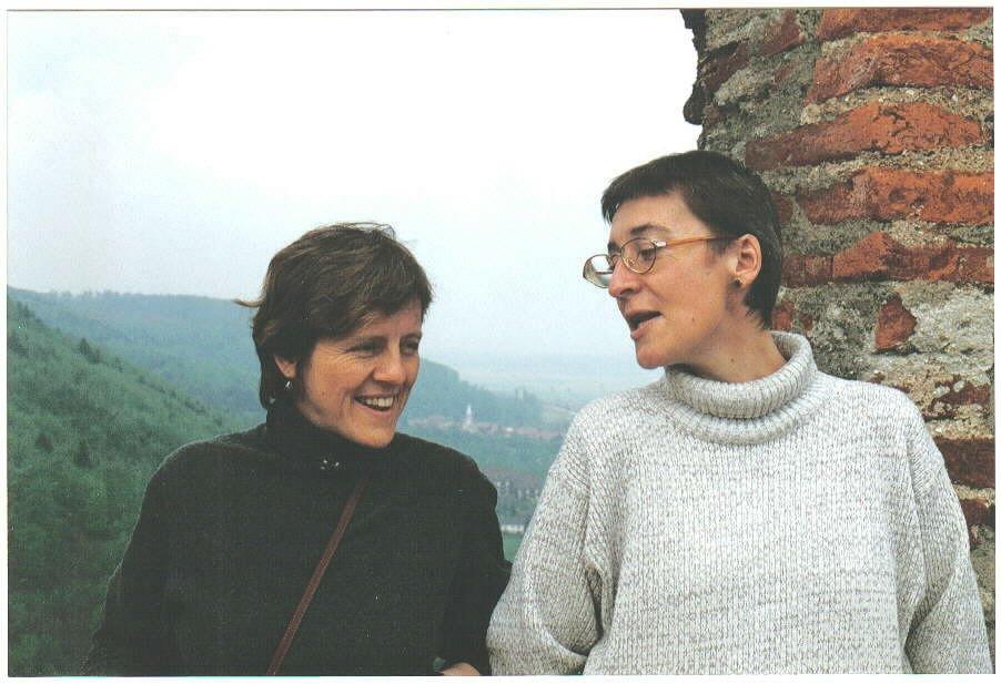 08 March 2005 (Strasbourg, with Irina)