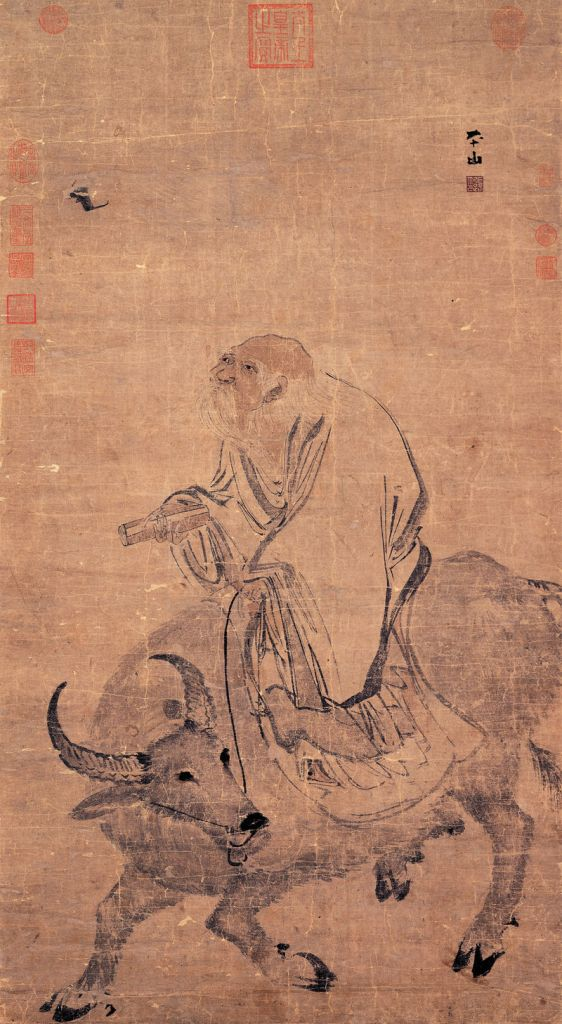800px-Zhang_Lu-Laozi_Riding_an_Ox