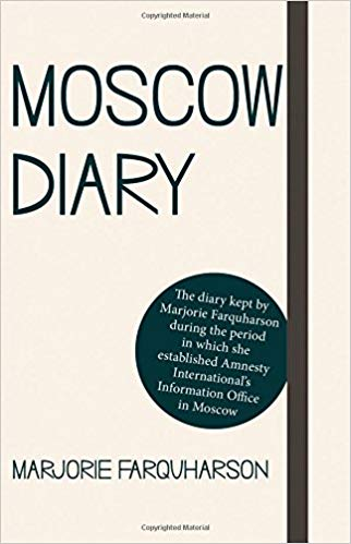 Moscow diary cover